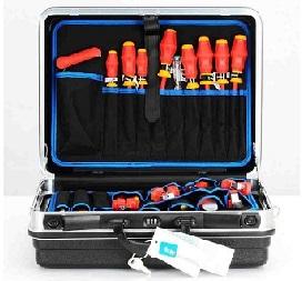 caja-de-herramientas-KNIPEX-Basic, maletín herramientas comparativa
