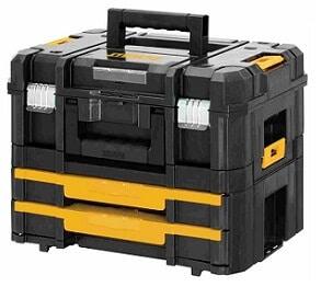 DeWalt vacía, Caja de herramientas vacía DeWalt, caja de herramientas dewalt vacía, maletín herramientas dewalt vacio