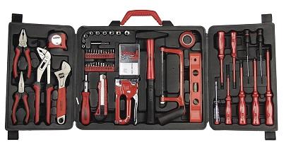 caja-de-herramientas-Mannesmann-M29065, Mannesmann M29065 para bricolaje