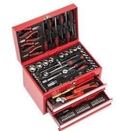 caja-de-herramientas-Mannesmann-M29066, maletin herramientas Mannesmann M29066