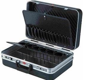 Knipex-Standard-vacío, caja de herramientas knipex standard, caja de herramientas knipex standard vacia, maletin herramientas knipex standard, maletin de herramientas knipex standard vacio