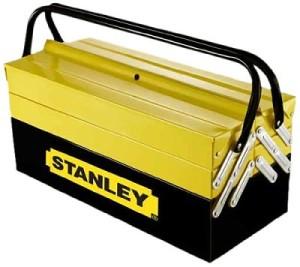 caja-de-herramientas-Stanley-clasica, caja herramientas metalica