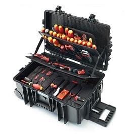 Caja herramientas electricista